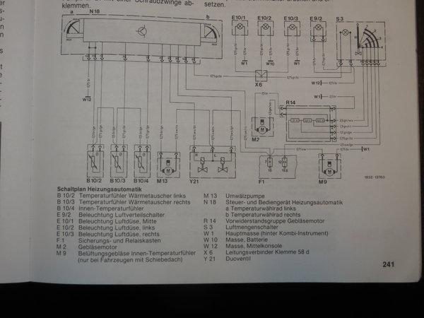 Heizung spielt verrückt - Interieur - w124-freunde.com