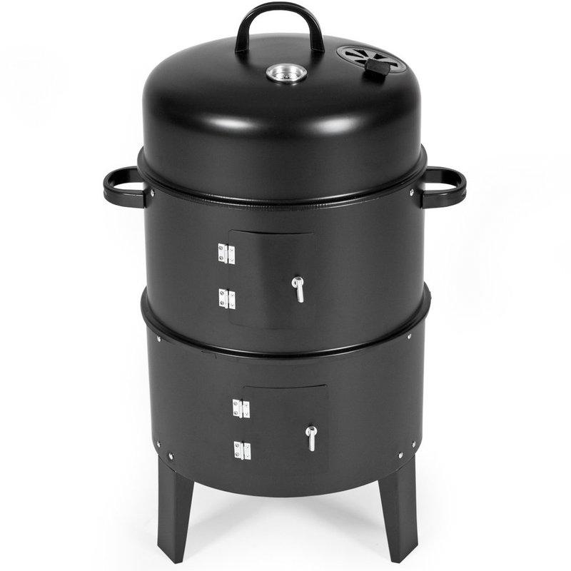bbq r ucherofen grill smoker grilltonne wassersmoker. Black Bedroom Furniture Sets. Home Design Ideas