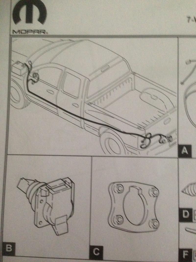 Berühmt Eine Spezielle Serie Für Dodge Ram Anhänger Schaltplan ...
