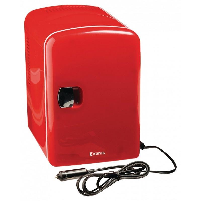 KÖNIG Retro Design Tragbarer MiniKühlschrank für Auto  -> Kühlschrank Für Auto