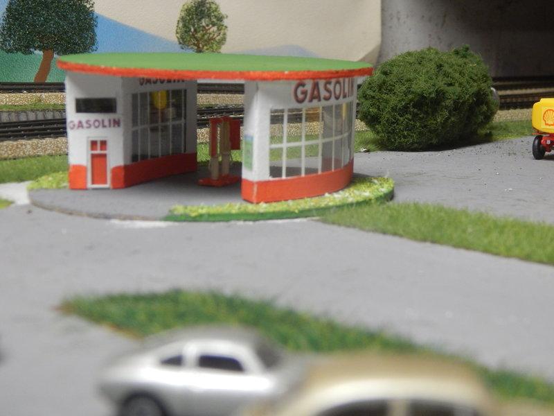 Gasolin Tankstelle Eigenbau. 24377681sf