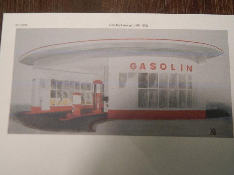 Gasolin Tankstelle Eigenbau. 24377694aw