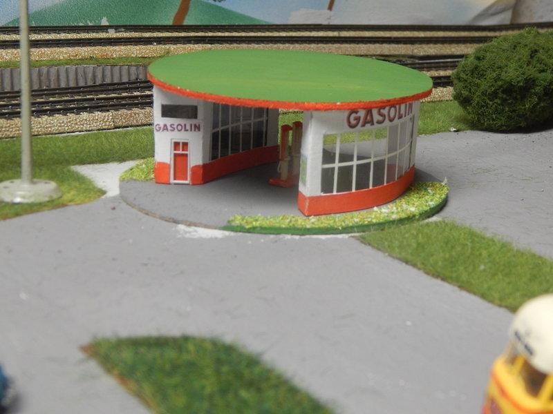 Gasolin Tankstelle Eigenbau. 24377697kz