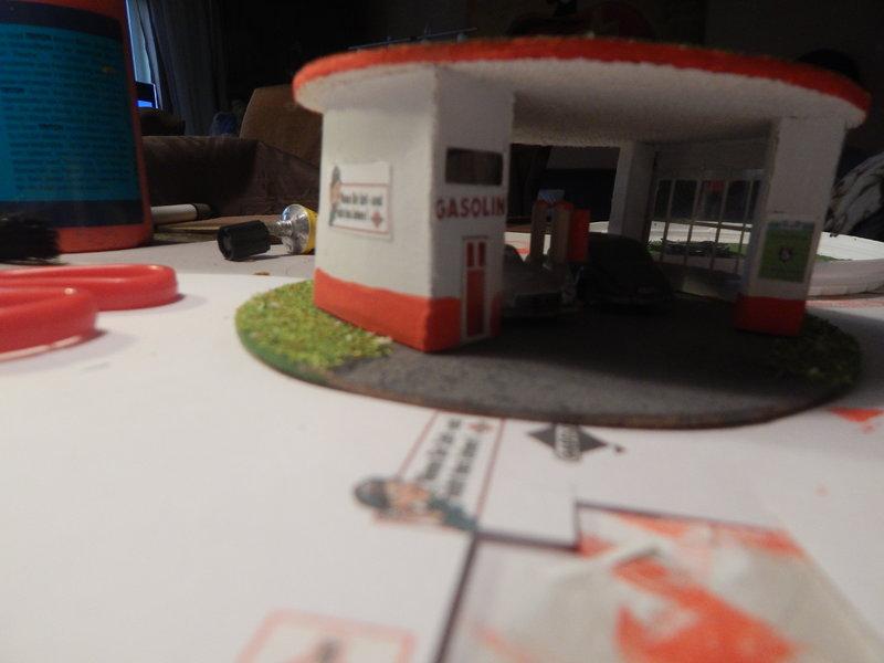Gasolin Tankstelle Eigenbau. 24377701nj