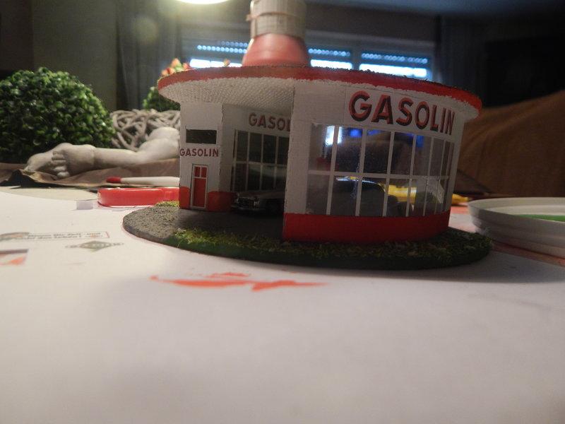 Gasolin Tankstelle Eigenbau. 24377705go