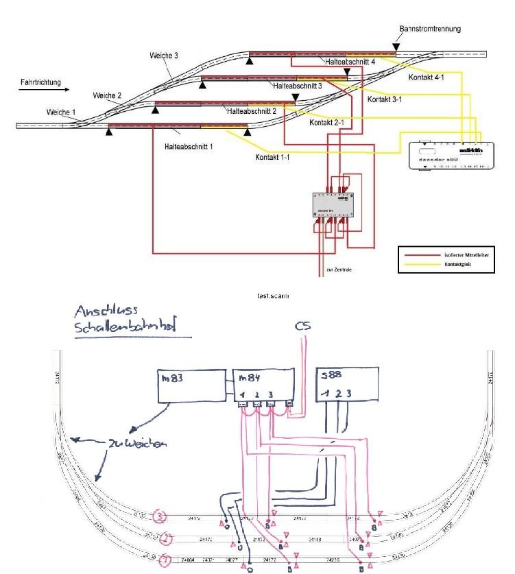 Verkabelung Schattenbahnhof - Stummis Modellbahnforum