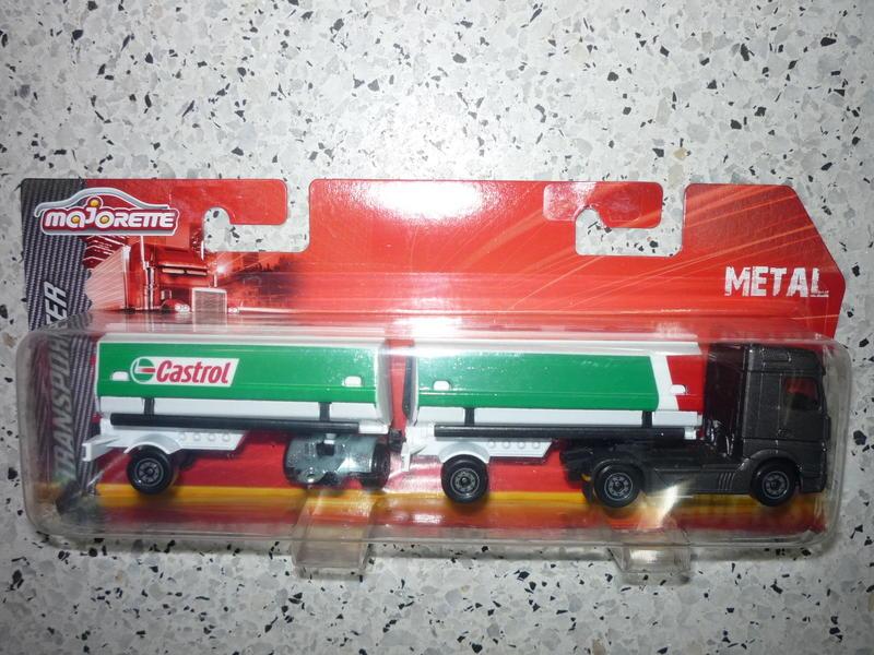 N°605 Mercedes Actros Semi Bi-Train Citerne 24402514wz