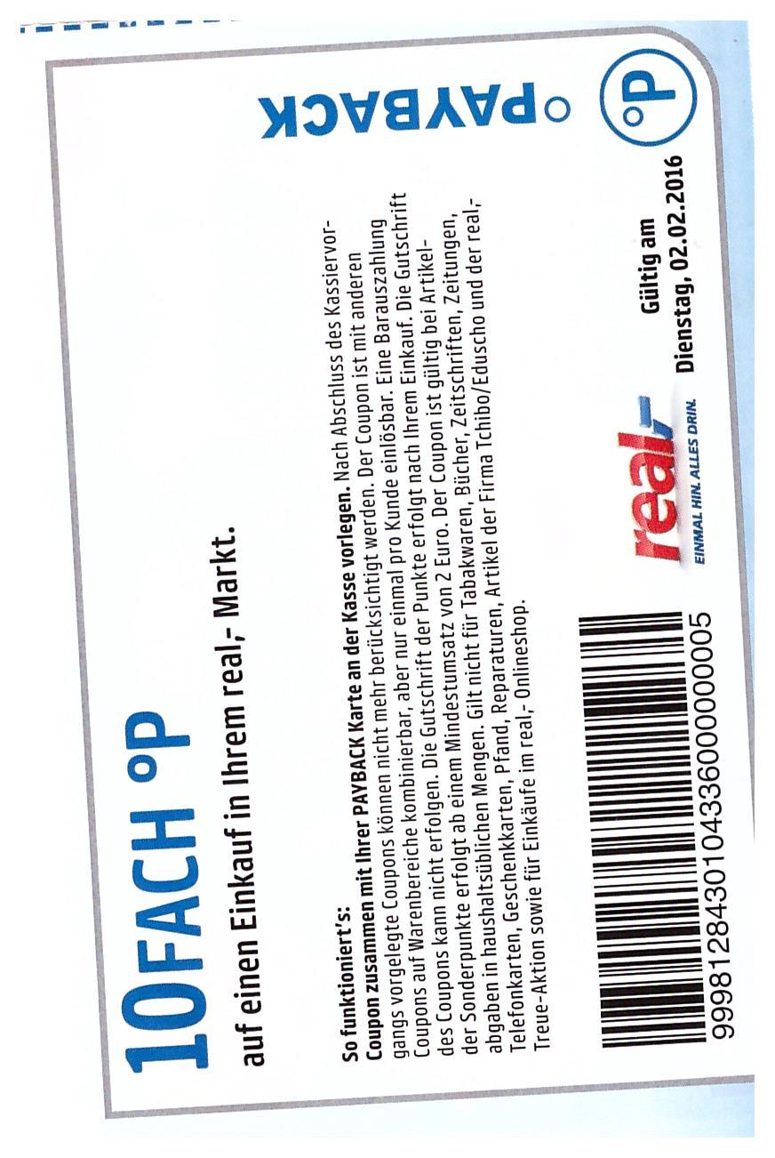 Real Gutschein Aktion Real Katalog Kostenlos Bei Real Okt Chip