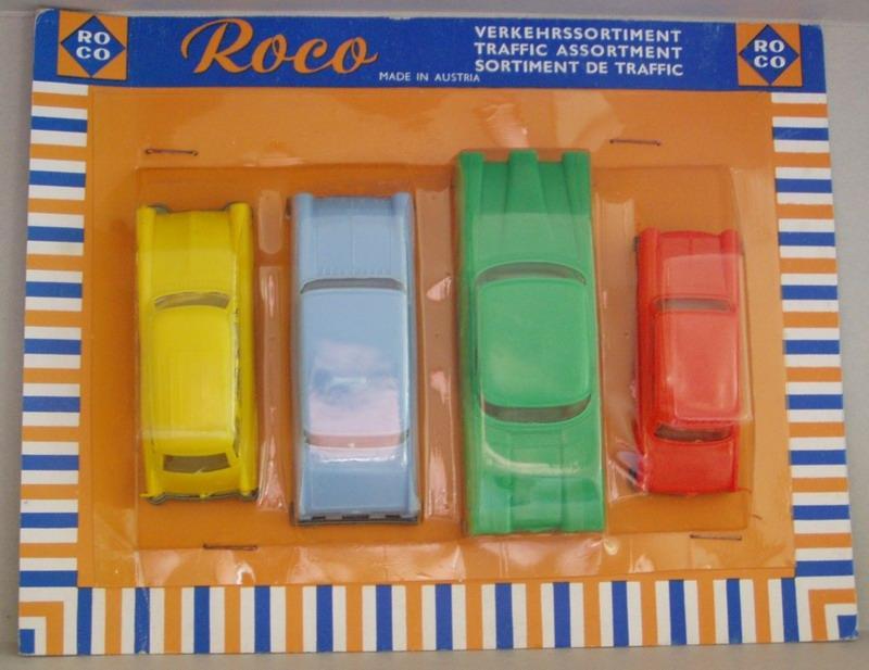 Edsel Altes ROCO Verkehrssortiment Set mit Ford Opel und DKW