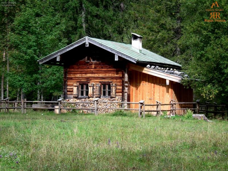 Kulube Resimleri - Kar ve Kulube - Holz Hütte Resimleri - Hütte ...