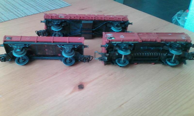 Alte Güterwagen v. Dachboden 24500727jh