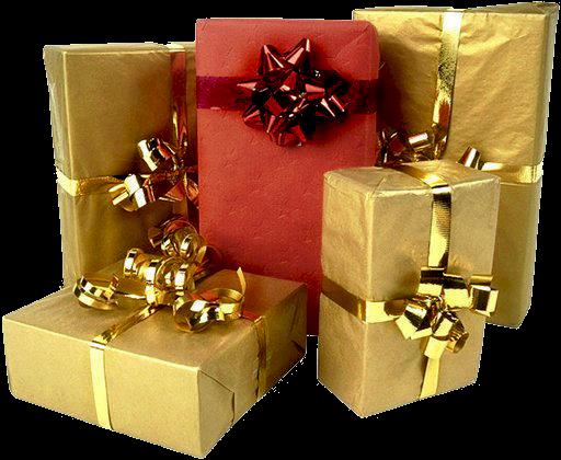 Подарок на день рождения золото