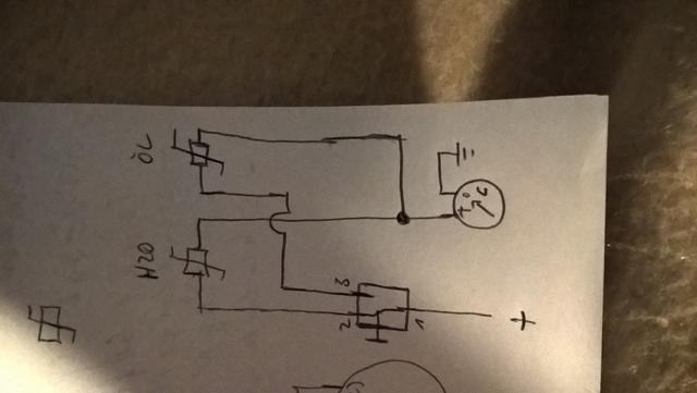Zweiter Kühlmitteltemperatursensor für Öltemperatur? (ZX 636 B)