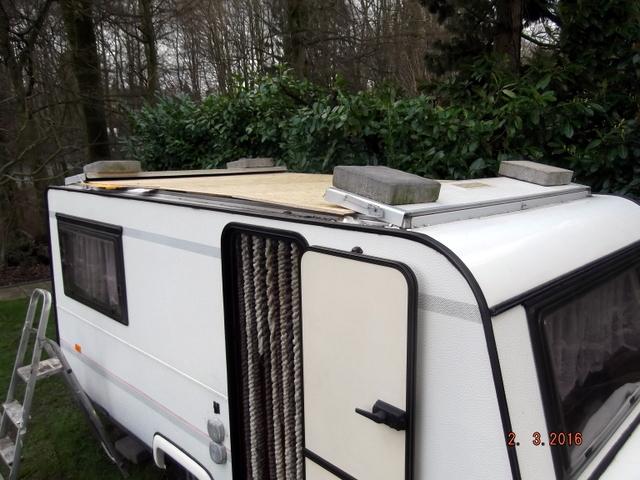 das vw bus forum neues von meinem undichten wohnwagendach mit bildern. Black Bedroom Furniture Sets. Home Design Ideas