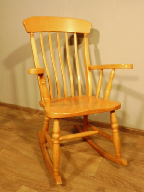 Schaukelstuhl stuhl in buchenholz gebraucht ebay for Schaukelstuhl antik gebraucht