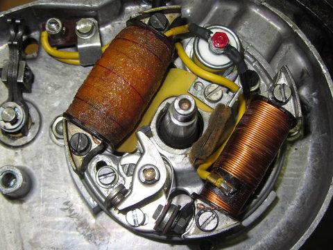 spule vor kondensator