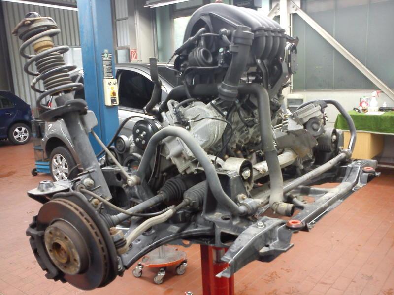 W Mercedes Engine