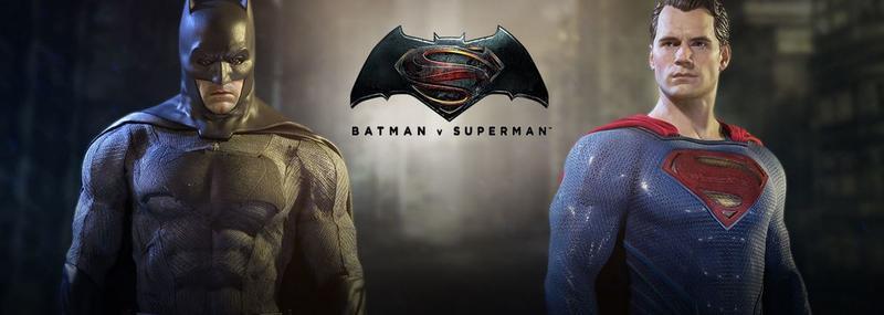 Batman v Superman 1/6 Actionfiguren