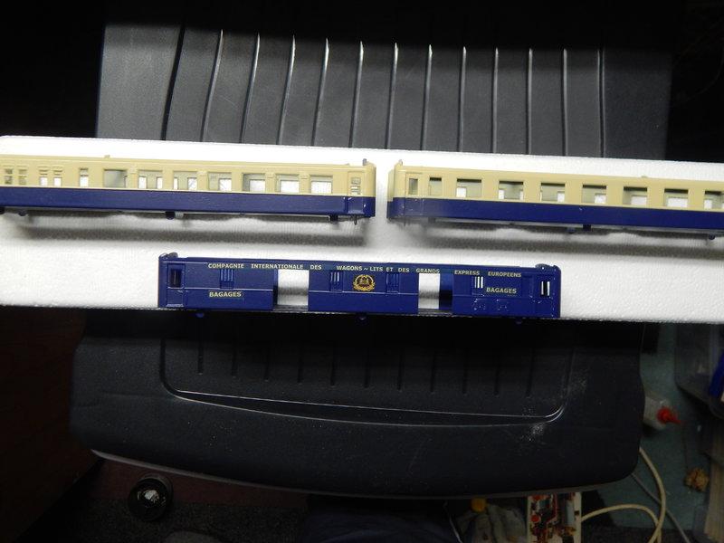 346 Wagenschrott zum Pullman Orient Express 25013174ll
