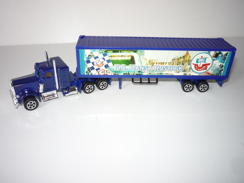 N°604 Kenworth + semi remorque container  ( version lisse ) 25082195yj