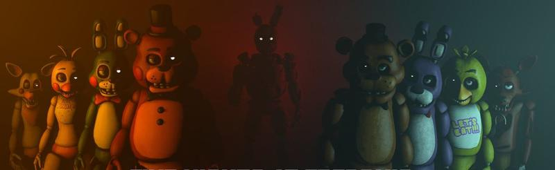 Five Nights at Freddy's Actionfiguren