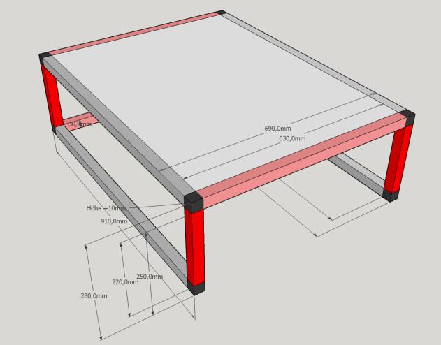 innenausbau aus aluprofilen. Black Bedroom Furniture Sets. Home Design Ideas
