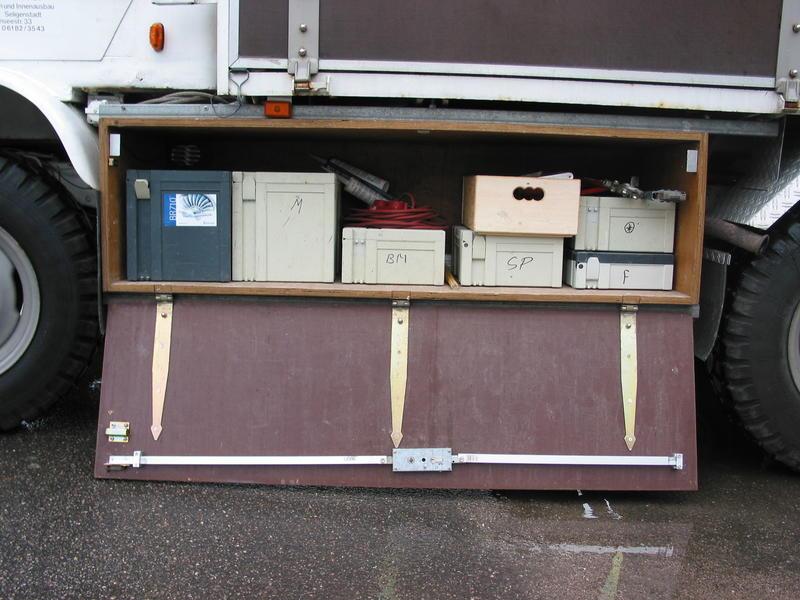 Unterflurboxen bauen und befestigen - Allrad-LKW-Gemeinschaft