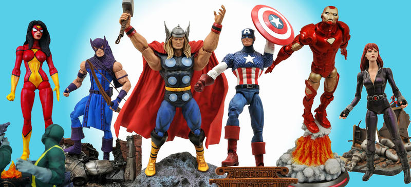 Marvel Select Actionfiguren