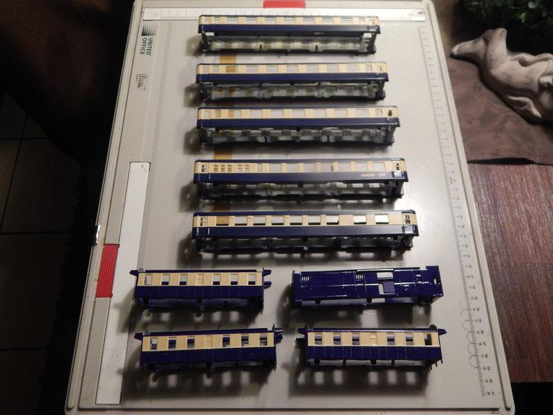 346 Wagenschrott zum Pullman Orient Express 25316784uv