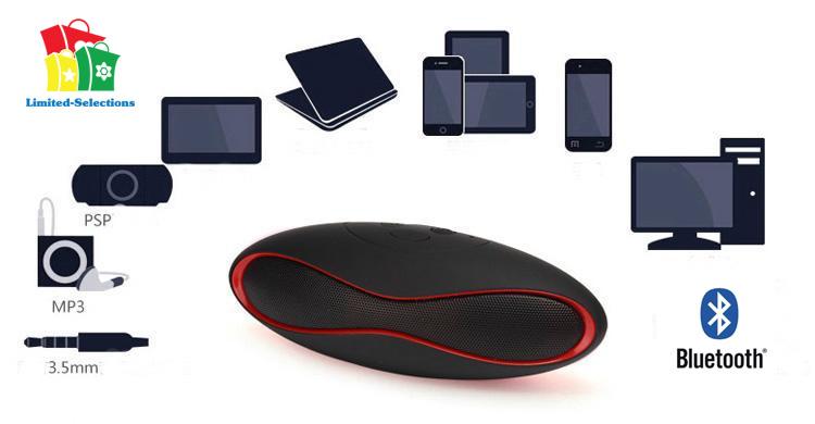 bluetooth lautsprecher x6 wireless radio mirco sd usb handy pc laptop ebay. Black Bedroom Furniture Sets. Home Design Ideas