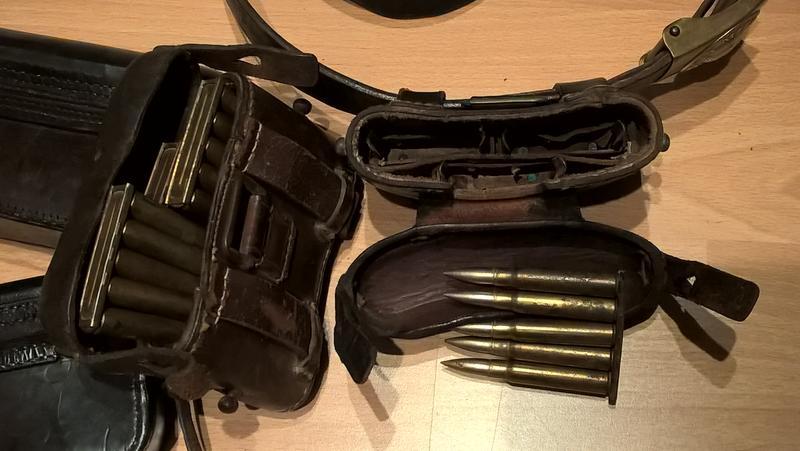 CARTOUCHIERE 1887 ? WW1 pour Mauser ? 25351949xw