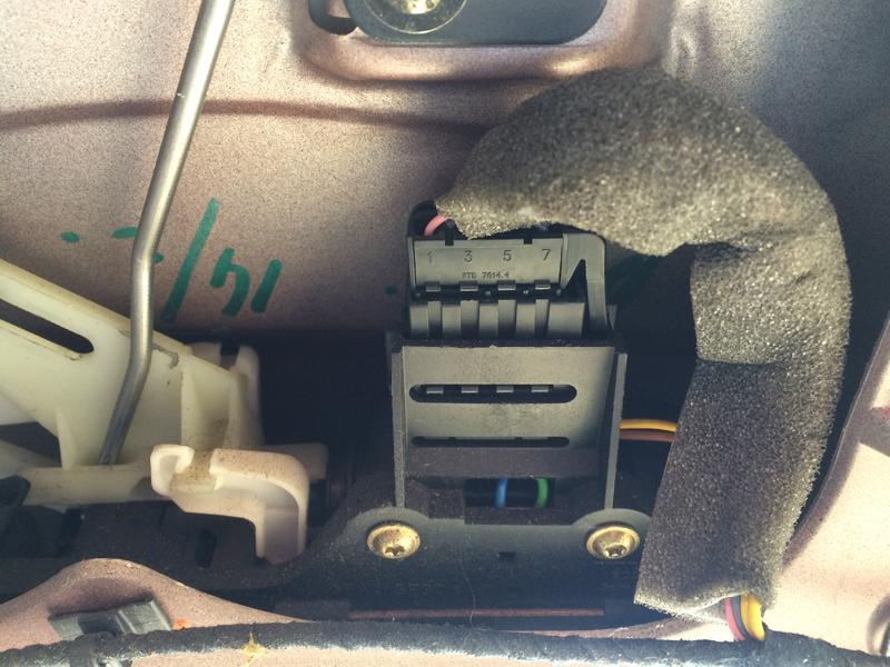 Slot ford focus achterklep