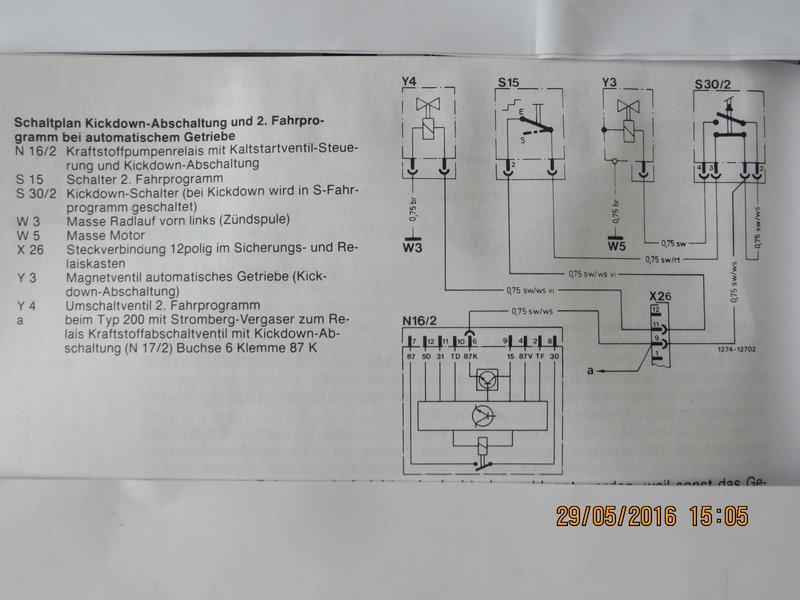 4 Gang Automatik 4 Gang kein Kraftschluß - Getriebe & Motor - w124 ...