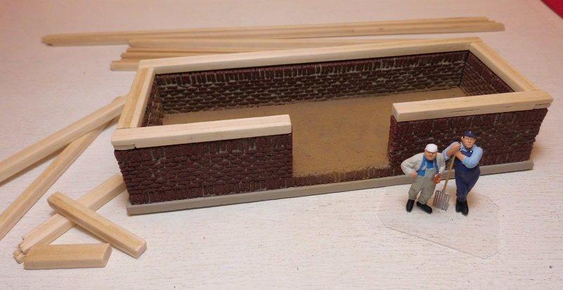 ein kleiner schuppen entsteht seite 2 anlagenbau 2. Black Bedroom Furniture Sets. Home Design Ideas