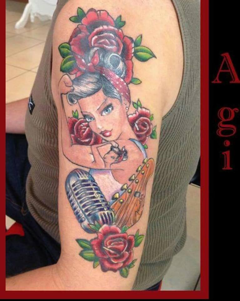 Rockabilly Thema Anzeigen Was Für Tattoos Habt Ihr Und Wo
