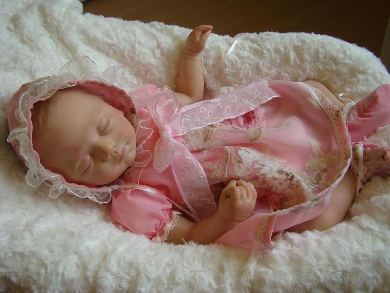 rebornbaby girl reallife baby prototype josie reborn baby ebay. Black Bedroom Furniture Sets. Home Design Ideas
