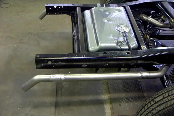 Lmc Rear Gas Tank Install The 1947 Present Chevrolet