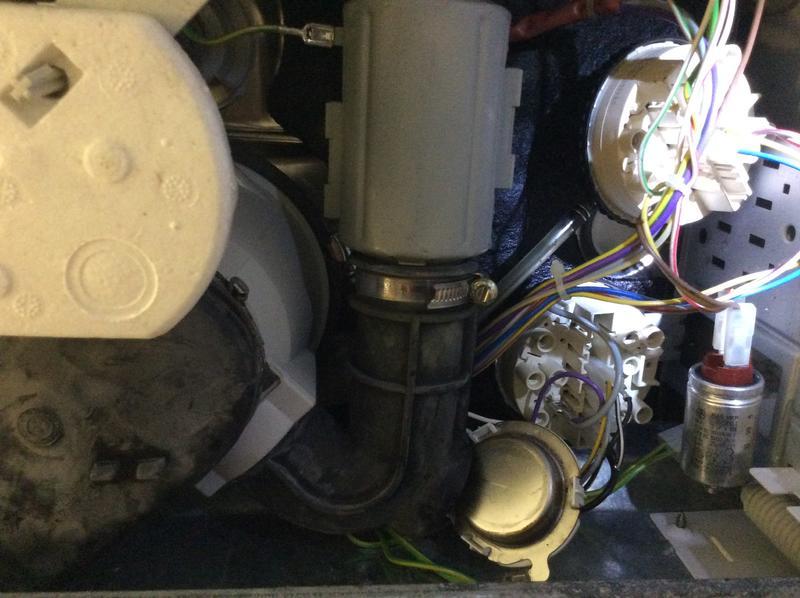 waschmaschine verliert wasser