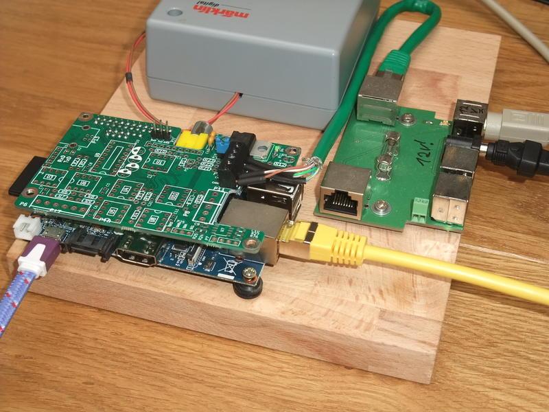 Banana Pi with CAN interface board