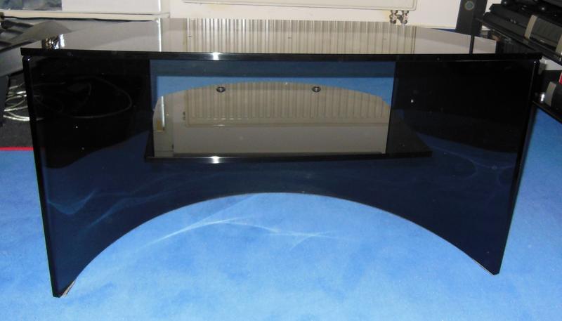 loewe tv rack klavierlack schwarz ebay. Black Bedroom Furniture Sets. Home Design Ideas