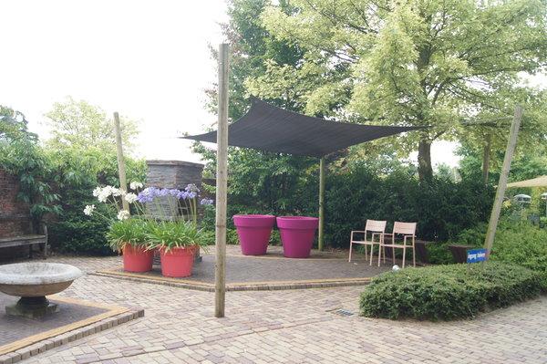 pergola mit rollo als beschattung seite 1 terrasse. Black Bedroom Furniture Sets. Home Design Ideas
