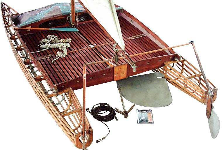 Skin On Frame Catamaran - Boat Design Forums