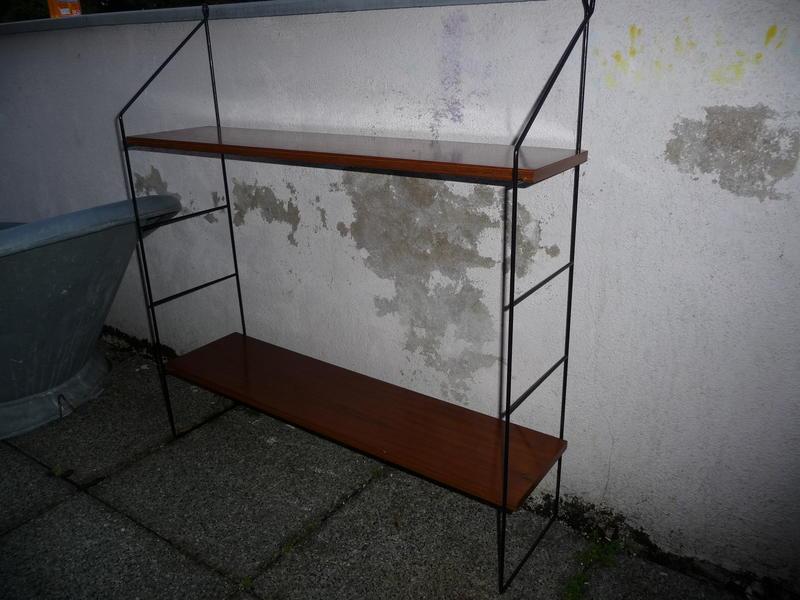 nissen string regal b cherregal teak in aarau kaufen bei. Black Bedroom Furniture Sets. Home Design Ideas