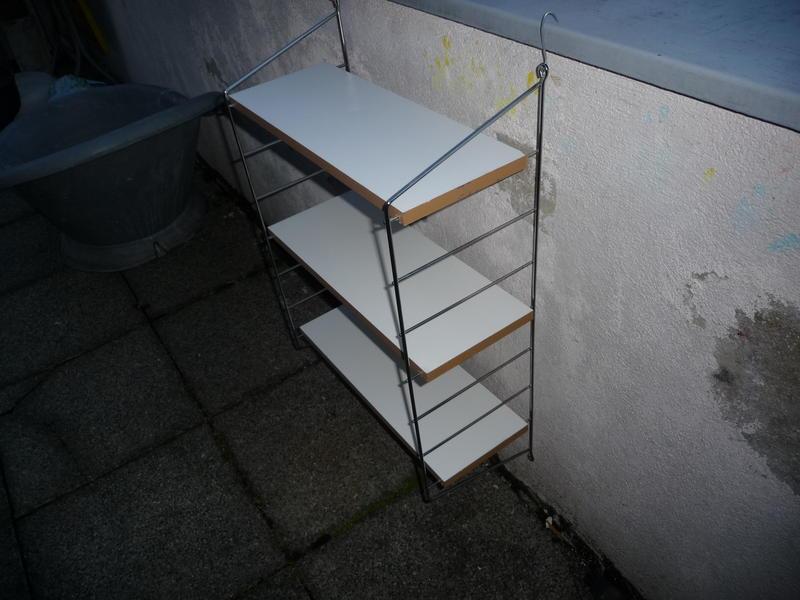string regal b cherregal 50er 60 jahre in aarau kaufen bei. Black Bedroom Furniture Sets. Home Design Ideas