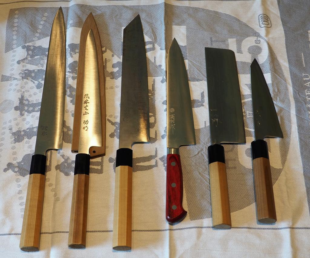 Die Küchenmesser Galerie | Kochmalscharf