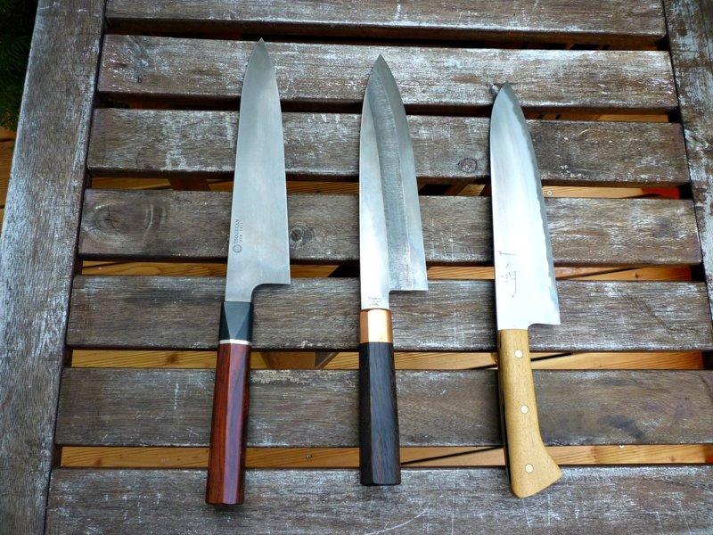 Die Küchenmesser Galerie   Kochmalscharf
