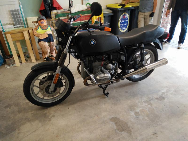 bmw r65ls cafe racer caferacer. Black Bedroom Furniture Sets. Home Design Ideas