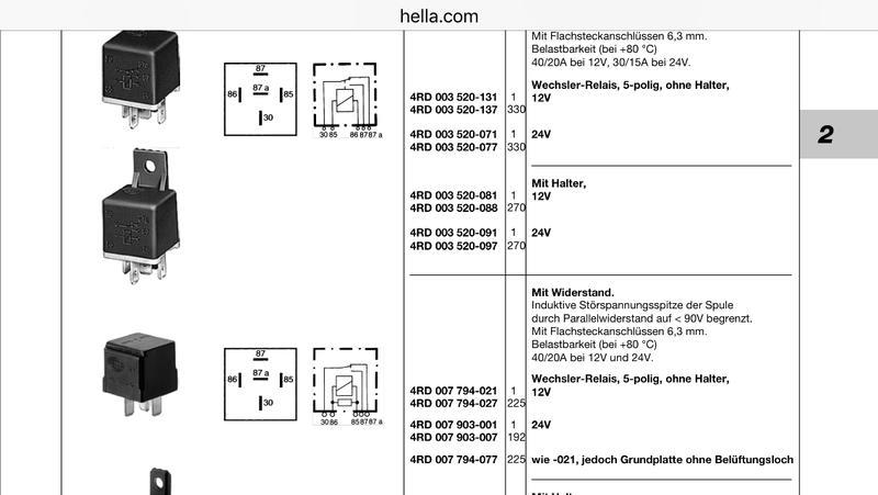 Heckscheibenheizung Elektrikfrage - Viermalvier.de, das ...