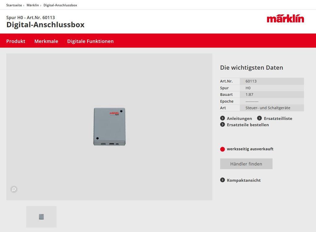 Hilfe erbeten! Märklin MS 2 (Art.-Nr. 60653) & Trafo 60052 - Stummis ...