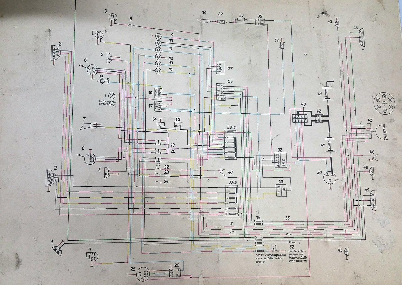 Stromlaufplan W50 12 V- - IFA-Schrauber